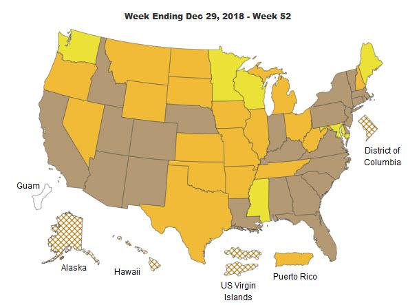 Weekly Influenza Report